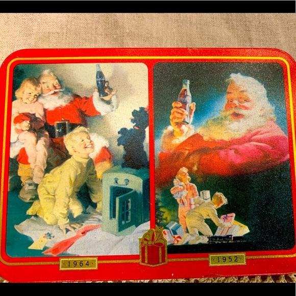 Coca Cola Playing Cards - Christmas Theme